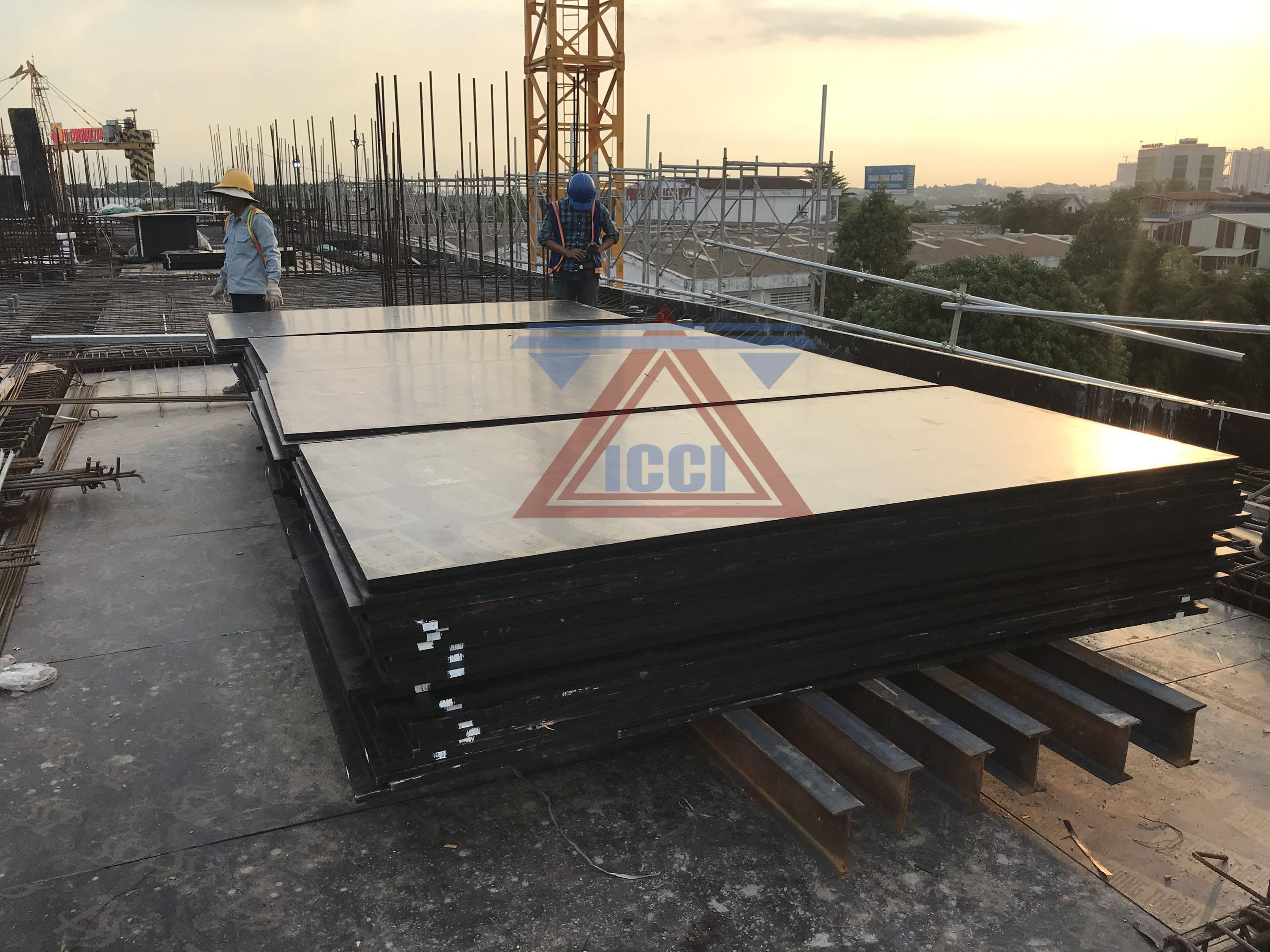 Testing scaffolding structure